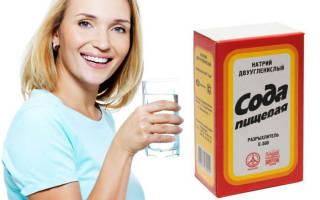Как пить соду пищевую при цистите