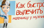 Лечение мужчины при болезни молочницы
