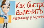 Молочница лечение у мужчин время лечения