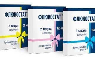 Молочница у женщин лечение флюкостат отзывы