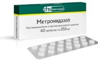 Дозировка метронидазола собакам при цистите