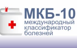 Геморрагический цистит код по мкб 10 у детей