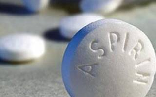 Как принимать аспирин при цистите