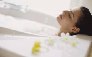 Душ или ванна при цистите