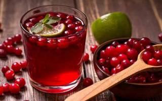 Для чего при цистите пить клюквенный морс