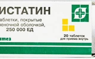 Нистатин при молочнице схема лечения