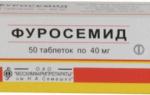 Фуросемид цистит инструкция по применению